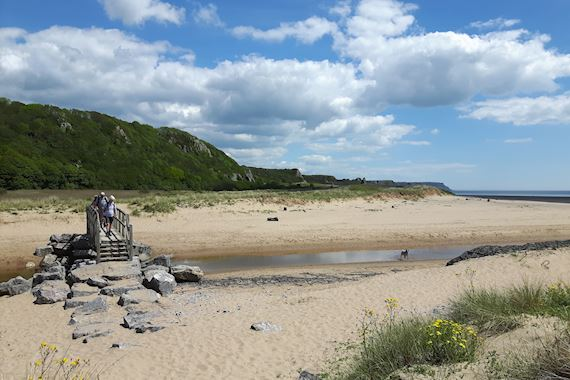 Beach at Oxwich