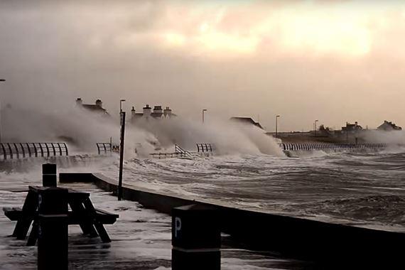 Storm at Treaddur Bay