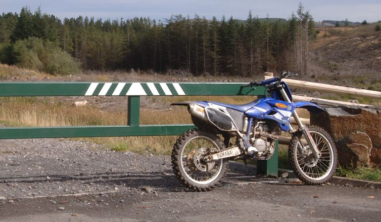 Off-road motorcyle